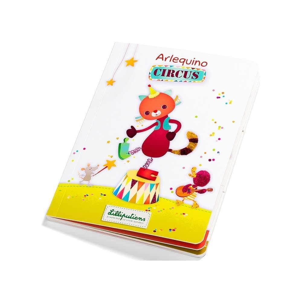 Детская книга Lilliputiens Цирк