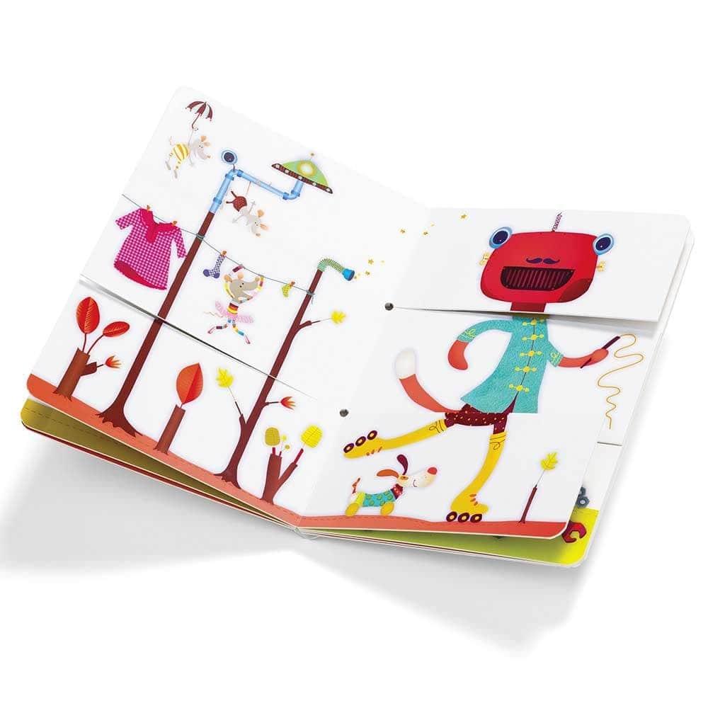 Детская книга Lilliputiens Цирк - lebebe-boutique - 2