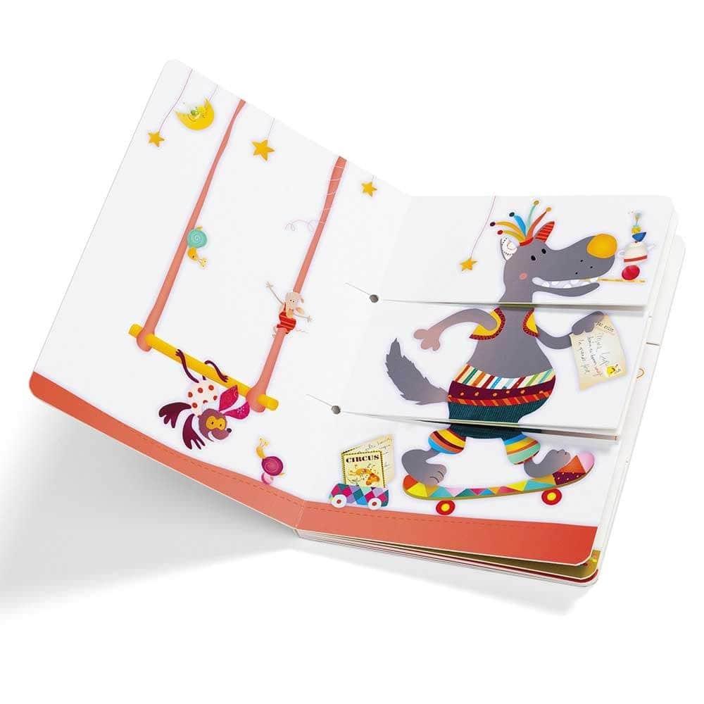 Детская книга Lilliputiens Цирк - lebebe-boutique - 3