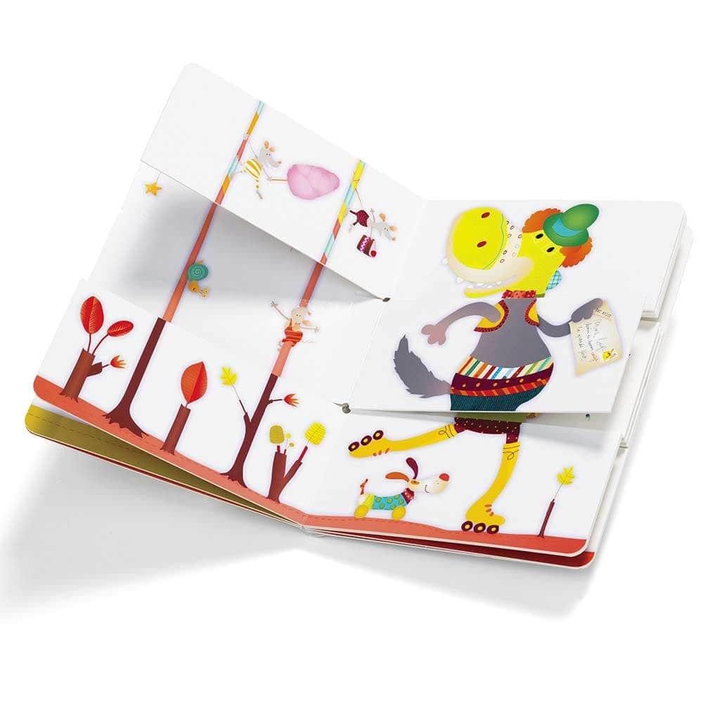 Детская книга Lilliputiens Цирк - lebebe-boutique - 4