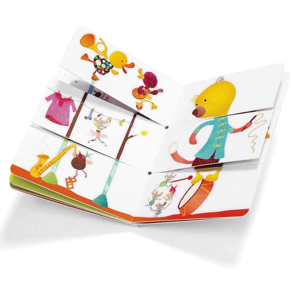 Детская книга Lilliputiens Цирк - lebebe-boutique - 5
