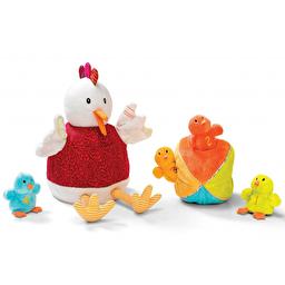 Кукольный театр Lilliputiens Курочка Офелия и ее цыплята