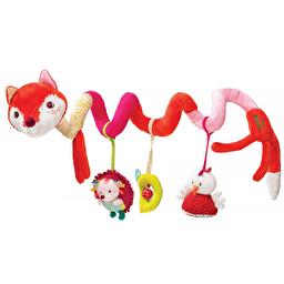 Спиральная игрушка-подвеска Lilliputiens лисичка Алиса
