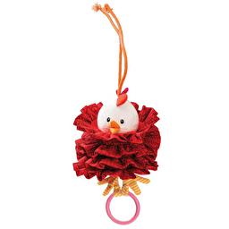 Вибрирующая игрушка c кольцом Lilliputiens курочка Офелия