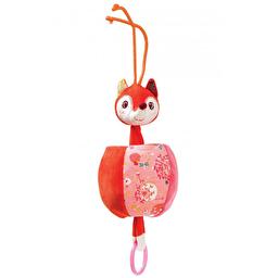 Вибрирующая игрушка с кольцом Lilliputiens лисичка Алиса