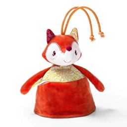 Двусторонняя игрушка-прорезыватель Lilliputiens лисичка Алиса