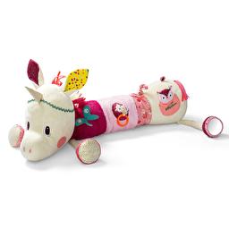 Большая развивающая игрушка-валик Lilliputiens единорог Луиза