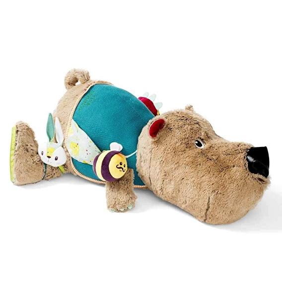 Большая развивающая игрушка Lilliputiens медведь Цезарь