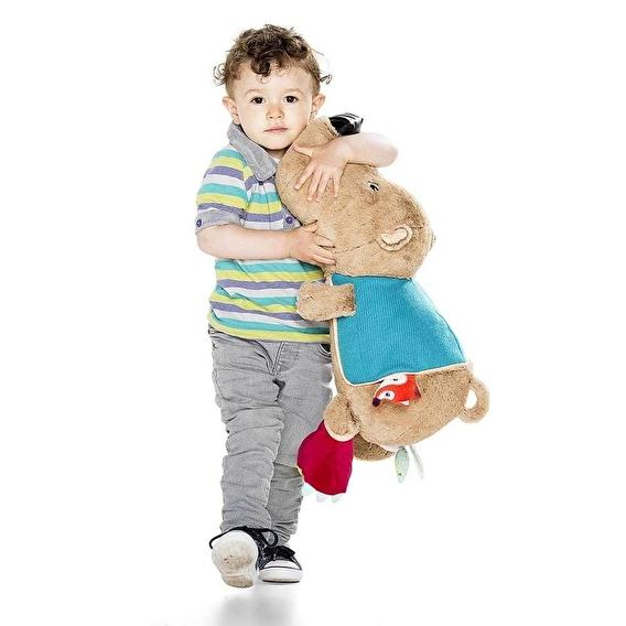Большая развивающая игрушка Lilliputiens медведь Цезарь - lebebe-boutique - 2
