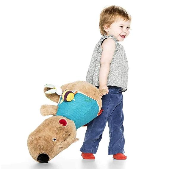 Большая развивающая игрушка Lilliputiens медведь Цезарь - lebebe-boutique - 3