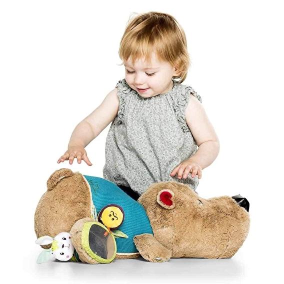 Большая развивающая игрушка Lilliputiens медведь Цезарь - lebebe-boutique - 4