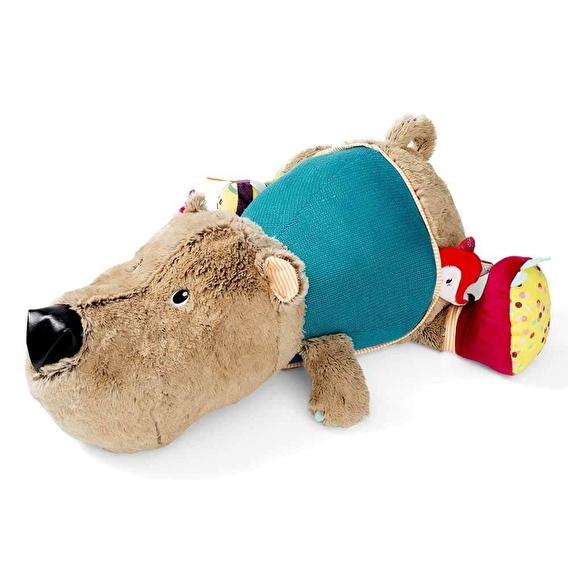 Большая развивающая игрушка Lilliputiens медведь Цезарь - lebebe-boutique - 6