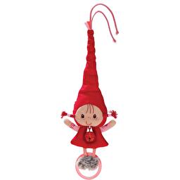 Игрушка на коляску с колокольчиком Lilliputiens Красная шапочка