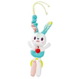 Игрушка на коляску с колокольчиком Lilliputiens кролик Селестин