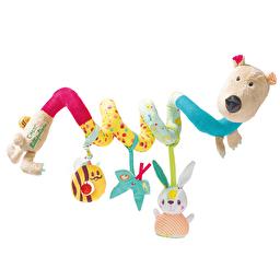 Спиральная игрушка-подвеска Lilliputiens медведь Цезарь