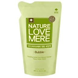 Засіб для миття дитячих пляшечок NatureLoveMere змінний блок 500 мл