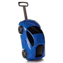 Детский чемодан на колесиках Ridaz Lamborghini Huracan синий 91002W-BLUE