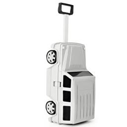 Детский чемодан-машинка Ridaz Mercedes-Benz G-Class Белый (91009W-WHITE)