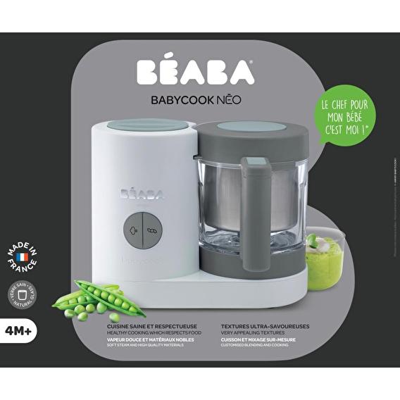 Пароварка-блендер Babycook Beaba Neo Grey/white - lebebe-boutique - 16
