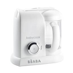 Пароварка-блендер Beaba Babycook white silver