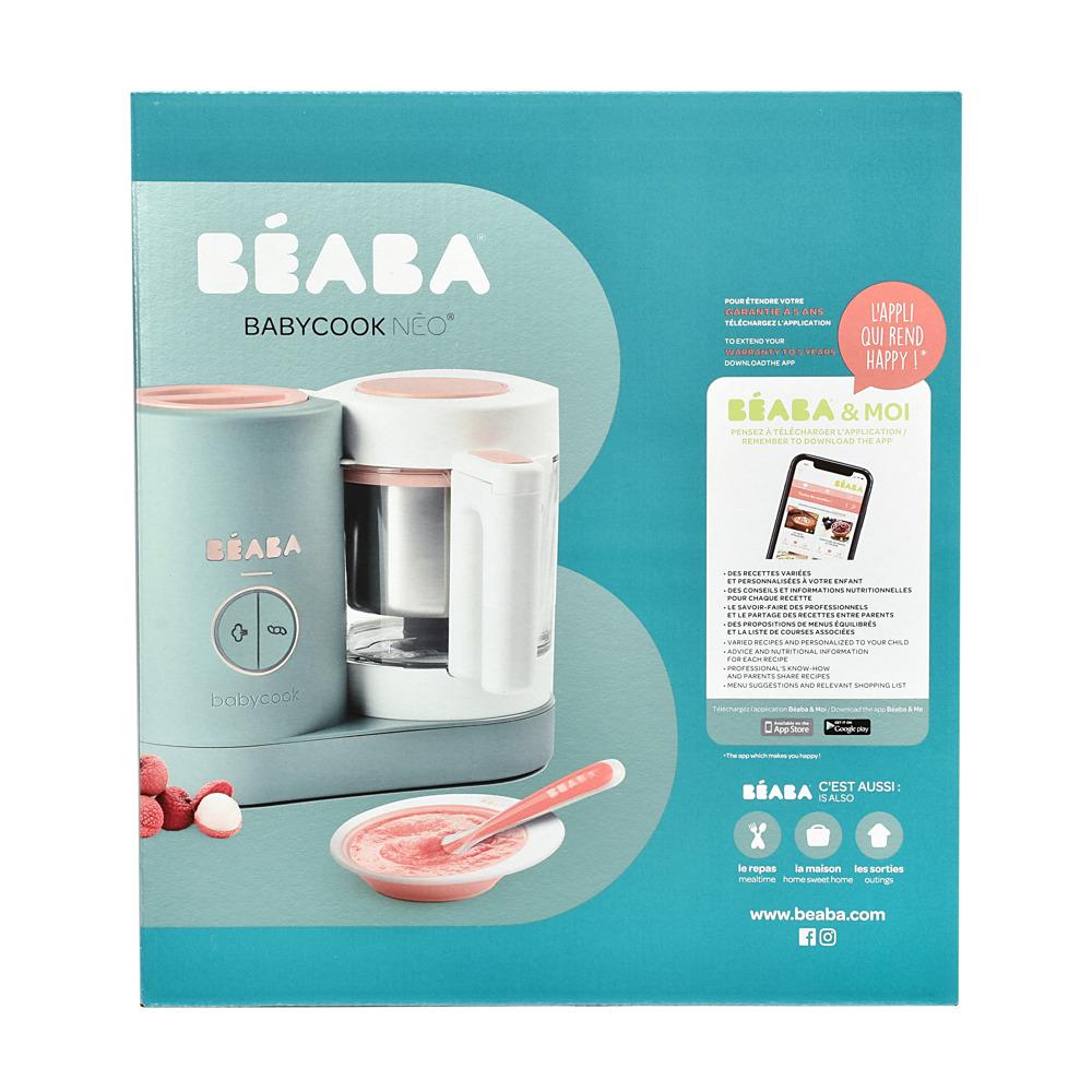 Блендер-пароварка Babycook Neo Beaba - Eucalyptus - lebebe-boutique - 6