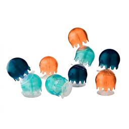 Игрушка для купания Boon Jellies (Navy/Coral)