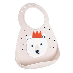 Нагрудник party animal (Polar Bear) Make my day