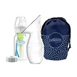 Комплект для кормящей мамы Dr. Brown's Options+ для сбора грудного молока