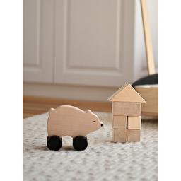 Деревянная игрушка-каталка / Мишка SABO Concept