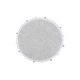 Ковер Lorena Canals Bubbly Light Grey Ø 120 cm