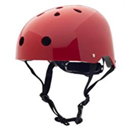Велосипедный шлем Coconut Trybike (цвет рубиновый, 47–53 см)