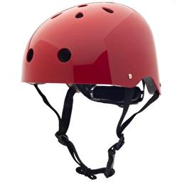 Велосипедный шлем Coconut Trybike (цвет рубиновый, 44–51 см)