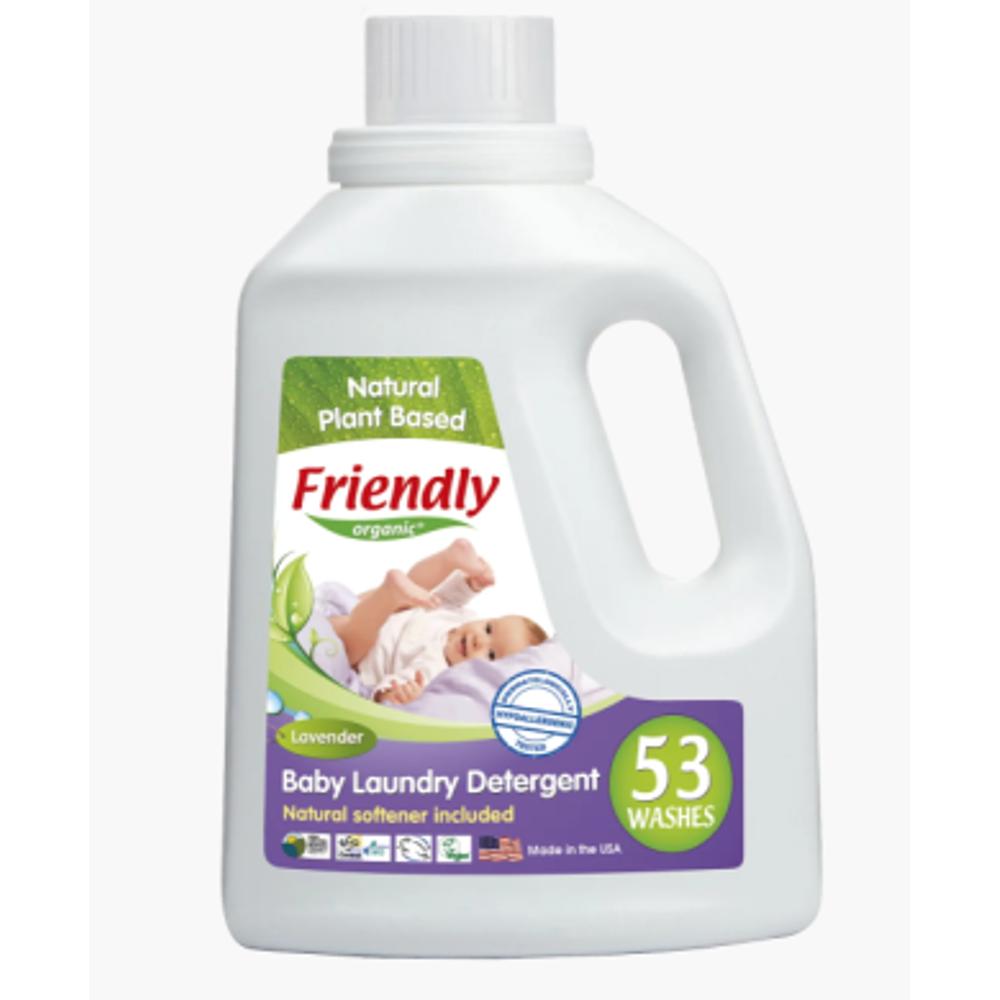 Органическое средство для стирки детского белья Friendly Organic лаванда 1567 мл