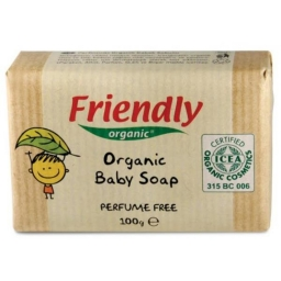 Дитяче органічне мило Friendly Organic Parfume Free