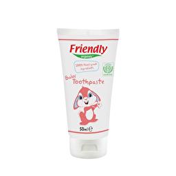 Детская зубная паста Friendly organic
