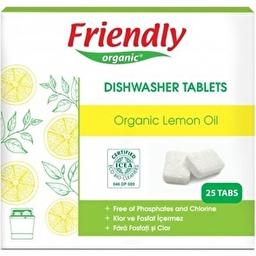 Органічні таблетки для миття посуду в посудомийній машині Friendly Organic 25 шт. FR1864