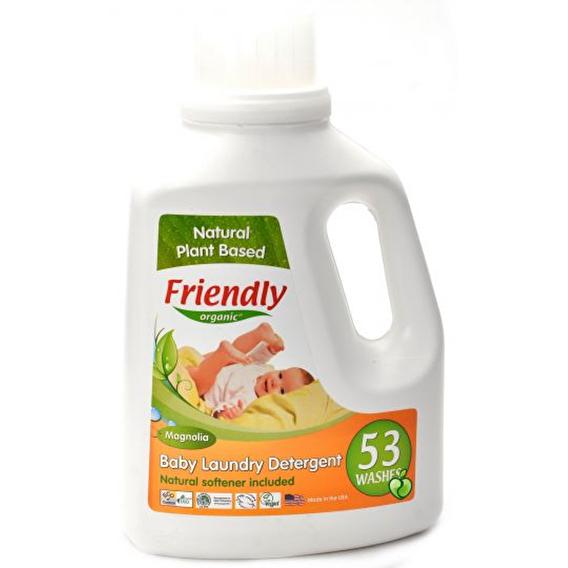 Органічний засіб для прання дитячої білизни Friendly organic магнолія 1567 мл