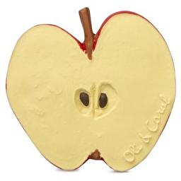 Игрушка для купания и прорезыватель для зубов Яблоко Пепита, натуральный каучук, Oli&Carol™