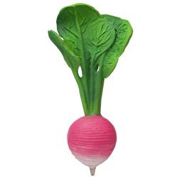 Игрушка для купания и прорезыватель для зубов Редис Рамона, натуральный каучук, Oli&Carol™
