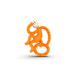 Игрушка-грызун Маленькая танцующая Мартышка 10 см, оранжевый Matchstick Monkey