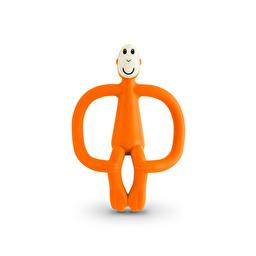 Іграшка-гризун Мавпочка 10,5 см,помаранчевий, Urban Baby