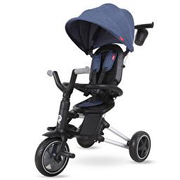 Велосипед складаний триколісний дитячий Qplay Nova EVA Blue