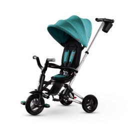 Велосипед складаний триколісний дитячий Qplay Nova Air Green
