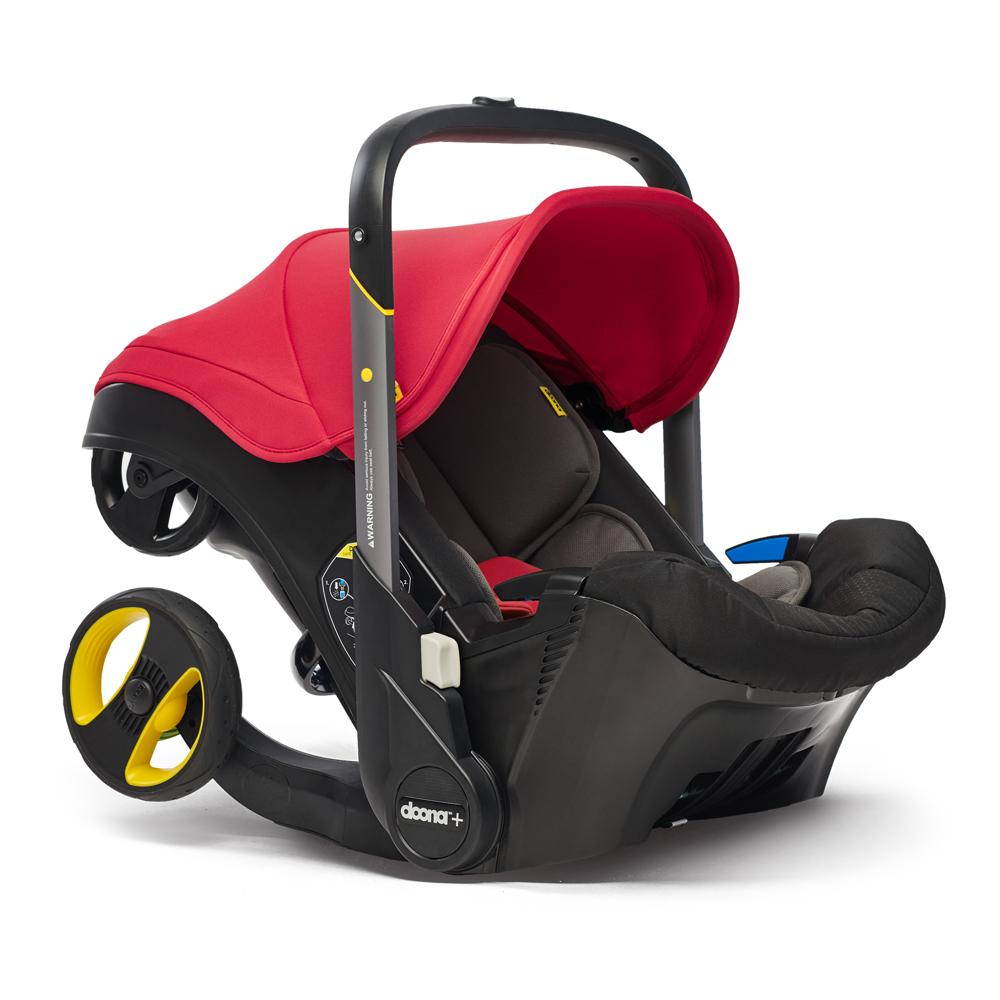 Автокресло Doona Infant Car Seat - Flame Red - lebebe-boutique - 2