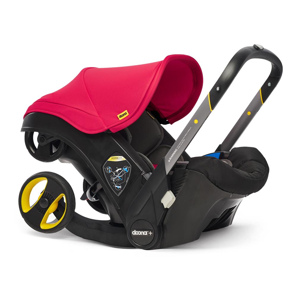 Автокресло Doona Infant Car Seat - Flame Red - lebebe-boutique - 3