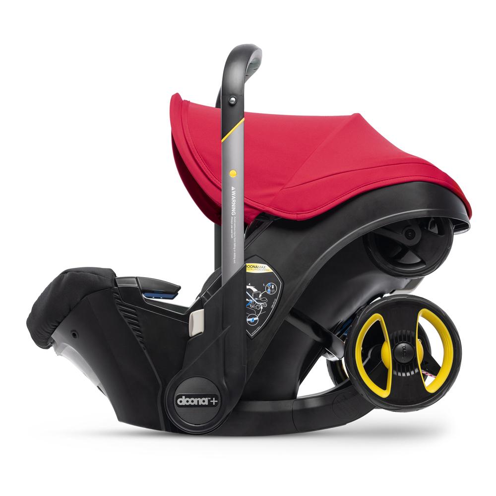 Автокресло Doona Infant Car Seat - Flame Red - lebebe-boutique - 4