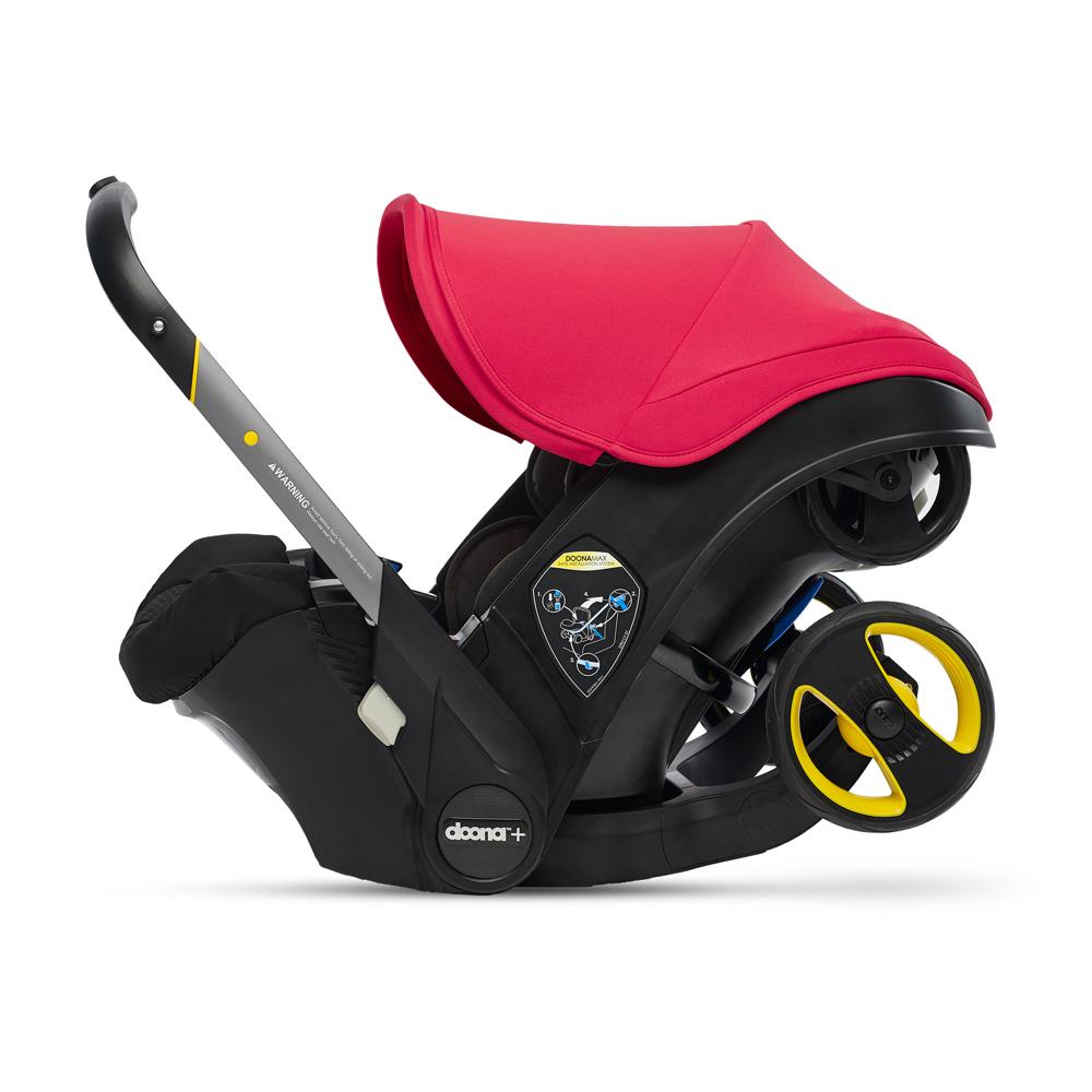 Автокресло Doona Infant Car Seat - Flame Red - lebebe-boutique - 5