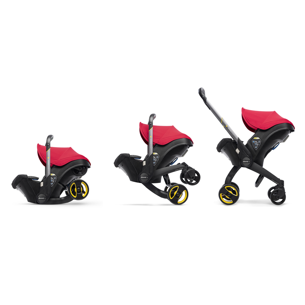 Автокресло Doona Infant Car Seat - Flame Red - lebebe-boutique - 7