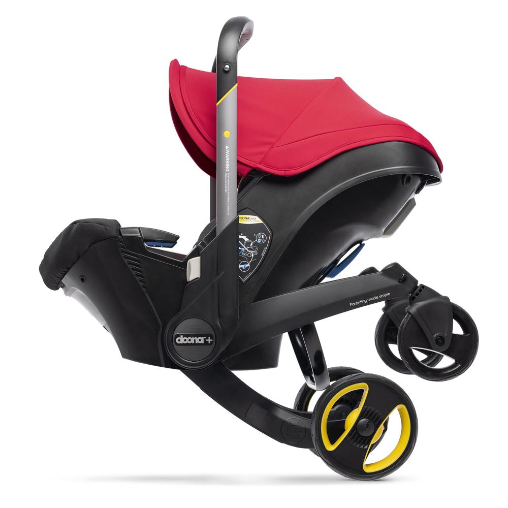 Автокресло Doona Infant Car Seat - Flame Red - lebebe-boutique - 10