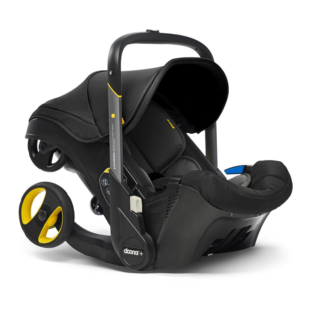 Автокресло Doona Infant Car Seat - Nitro Black - lebebe-boutique - 2
